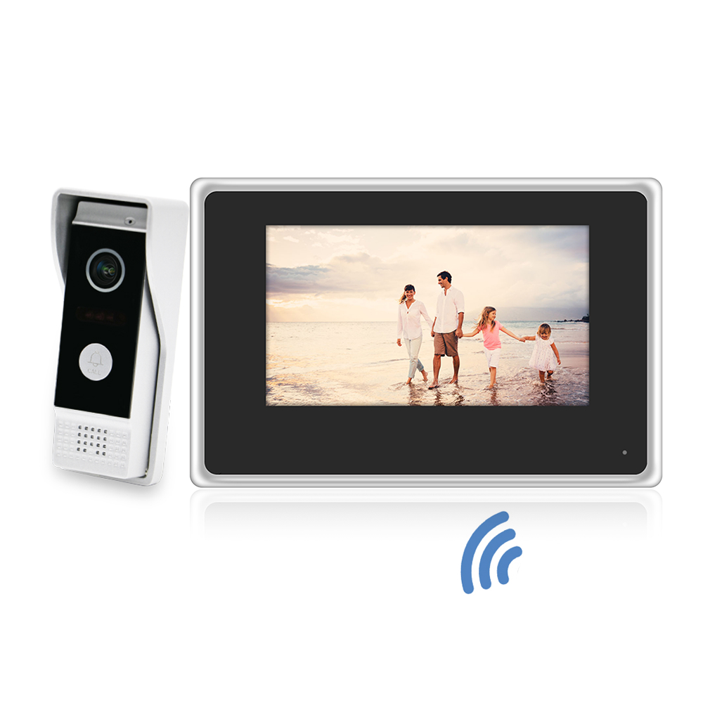 TCP/IP SIP Digital video intercom with Notification and Door Unlock
