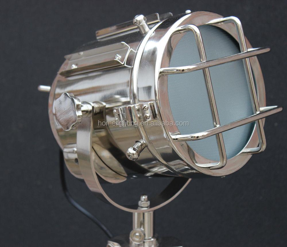 F-380 Hollywood Antieke Vloer Verlichting Lamp Marine Nautische ...