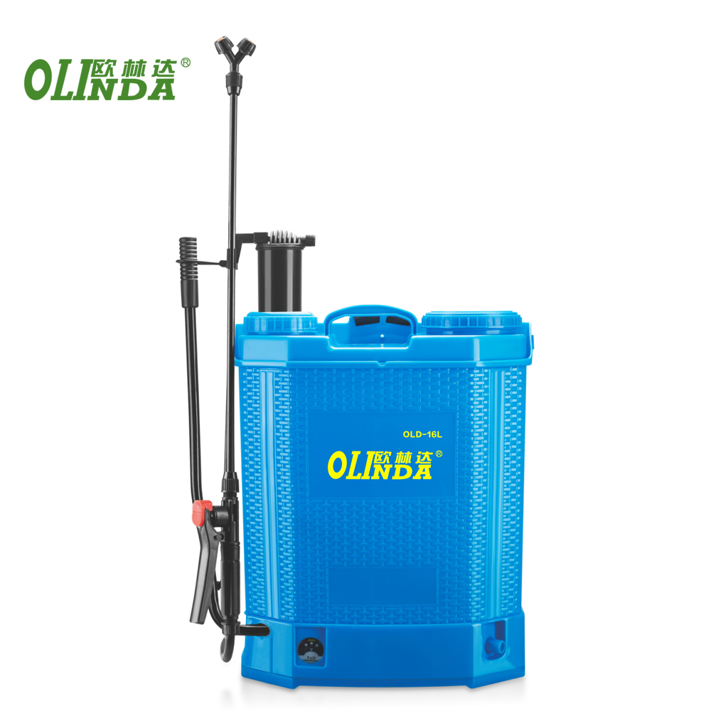 Best price high pressure fruit tree insecticide battery operated spray pump 16L 18L agricultural knapsack sprayer with nozzles