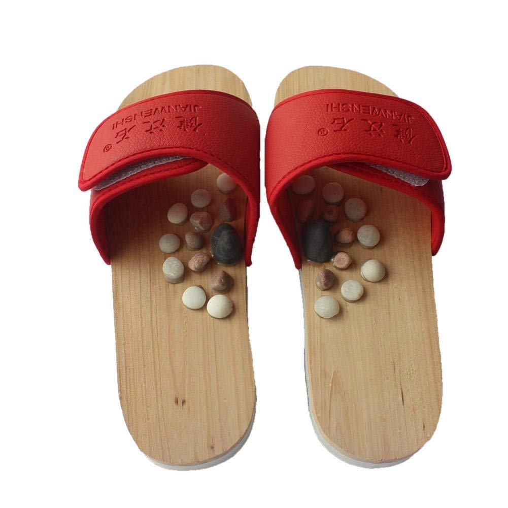 Cobblestone massage health shoes summer sandal and slipper