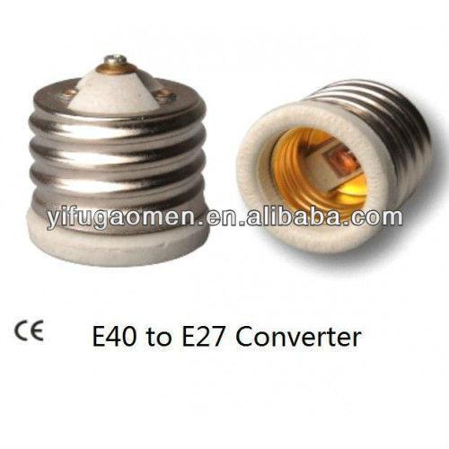 e40 e27 adaptateur convertisseur ampoule socket taille r ducteur industrielle 114734027. Black Bedroom Furniture Sets. Home Design Ideas