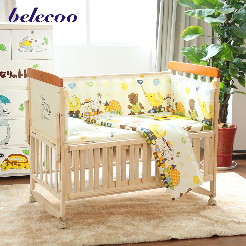 2017 belecoo bebé cuna fabricantes cama muebles de bebé cuna ...