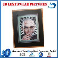 3D lenticular picture home decoration man picture