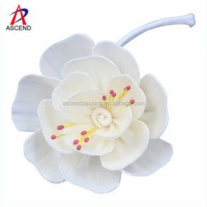 Natural Decorative Curly Aroma Reed Diffuser rattan flower diffuser