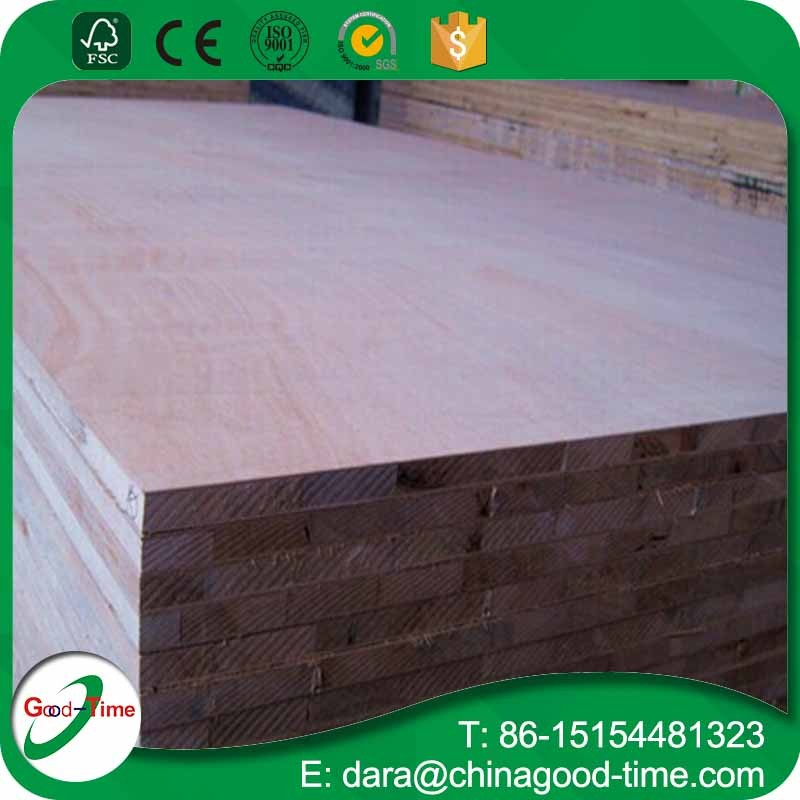 E1Grade 18mm melamine faced falcata blockboard