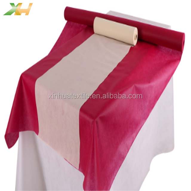 Factory wholesale colorful Italy used TNT non-woven table cloth tovaglie tnt