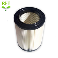 Wet Dry Vacuum Air Cartridge Hepa Filter Pleated 3 layer for Shop vac Vacuum