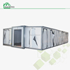 expandable folding living shipping 40ft container modular house with two bedrooms prefabricated for sale made in China