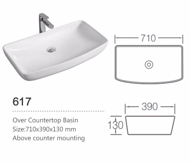 Ceramic Wash Basin Sizes In Inches For Bathroom - Buy Wash ...
