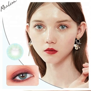 Realcon Fancy look Natural colored  contact lenses Aurora color contact lens
