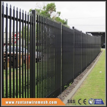Easily Assembled Pvc Coated Cheap Iron Fence Pickets With