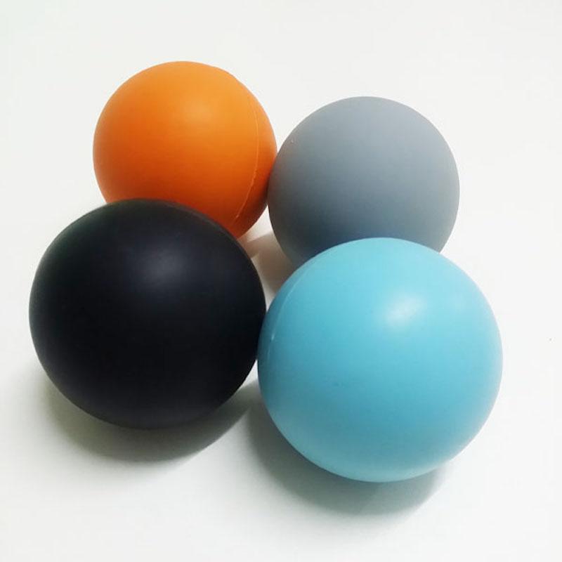 요가 운동한뒤로 오리궁디 & # silicone rubber 라크로스 마사지 공