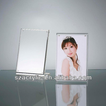 Acrylic Curved Glass Photo Frames Wholesale - Buy Curved Glass Photo ...