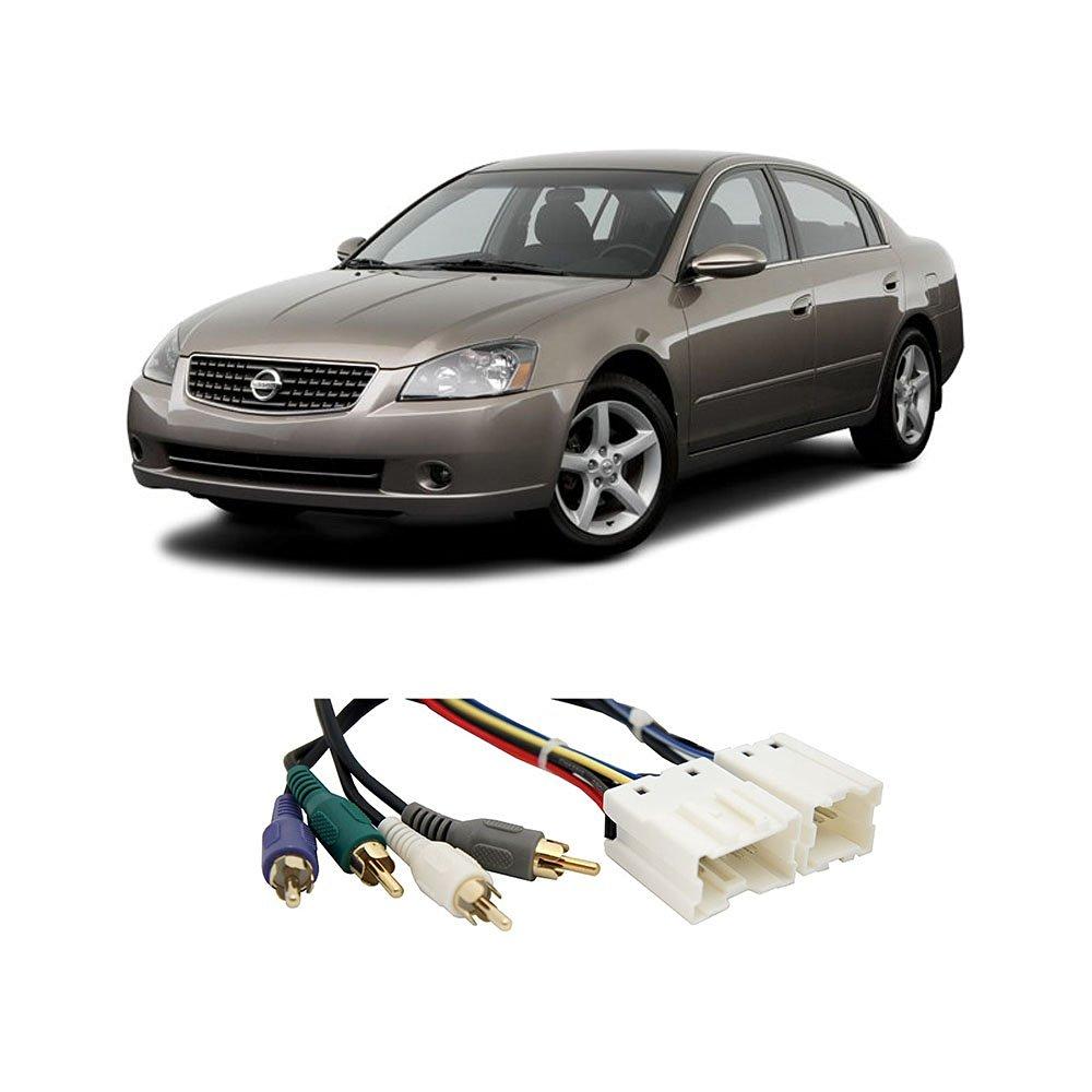 Fits Nissan Altima 95-06 (Premium Sound) Factory to Aftermarket Radio Harness