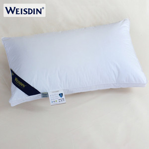 Cheap wholesale personalized hotel duck down feather pillows for sleeping