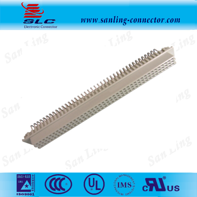 Right Angle Male 13*32*48*64*96*128 pin DIN 41612 connector Solder