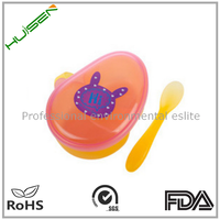 children food feeder sets suction plastic baby feeding bowl with spoon