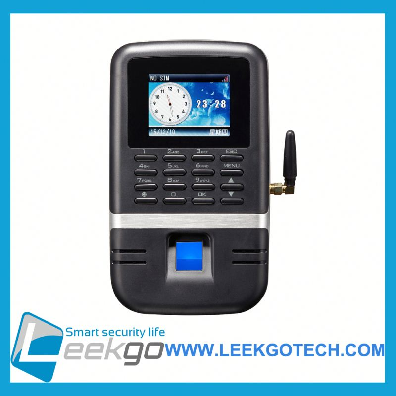Factory Wholesale Color Screen TCP/IP Biometric Fingerprint time attendance terminal gprs