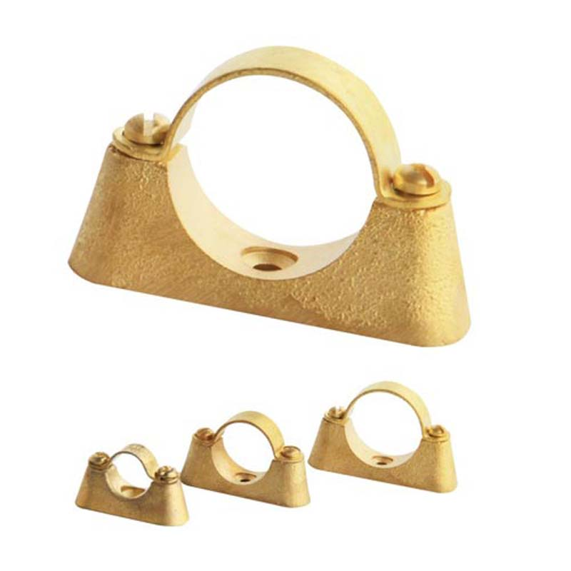 Pipe Clips//copper pipe Brass 22mm Brass Hospital Bracket Various Sizes