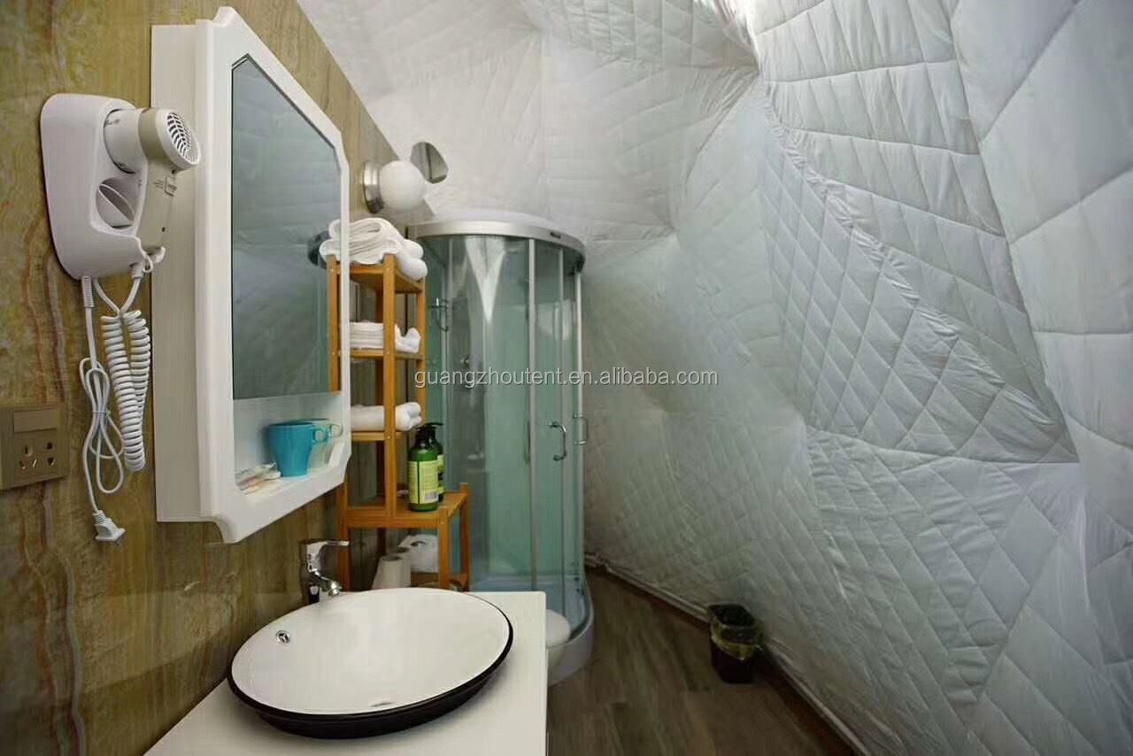 6m Luxury Hotel Dome Tent With Bathroom For Resort Buy