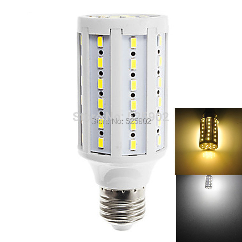 E27 SMD 5730 60LED 1800LM 12W Warm White(3000-3500K) Natural White(6000-6500K) Light LED Corn Bulb(AC 220-240V)