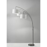 Multifunctional Adjustable Arch Floor Lamp Features A Tree Design With Three 26 W Lights