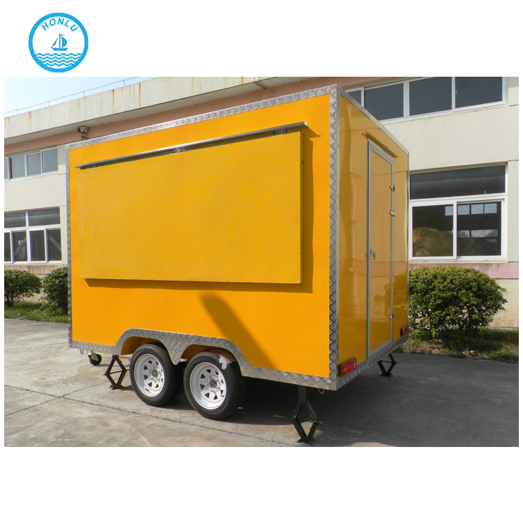 Factory new design towable food trailer for sale/build a mini food trailer/breakfast food trailer for sale