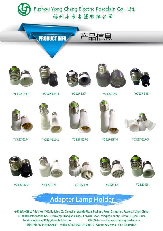 E40 To E27 Bulb Holder Adapter Type For Light Socket