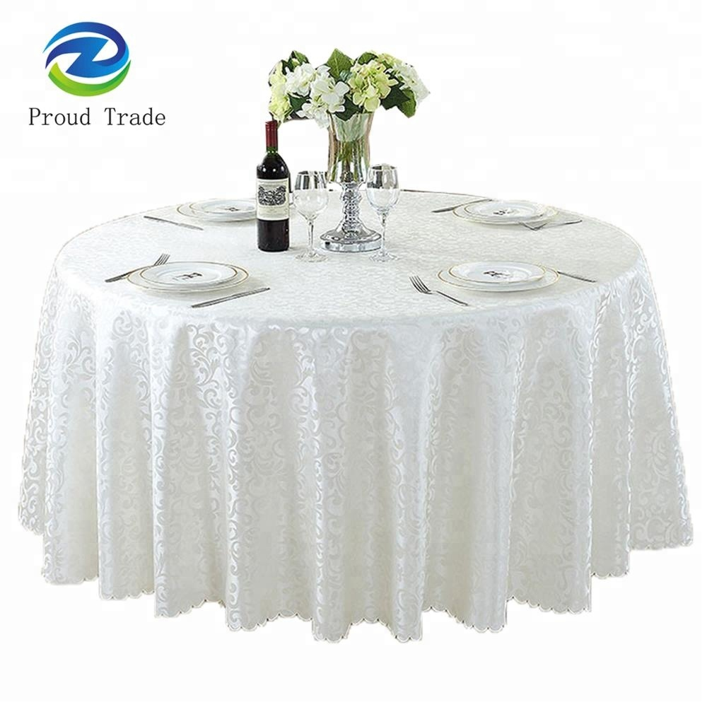 Traders and Company Wave 100 Cotton Tablecloth 109988WVK 109988WVS Color: Seafoam