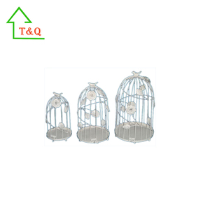 cheap wholesale decorative bird cage wrought iron