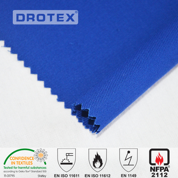 100% cotton 8oz line antistatic and waterproof flame retardant cotton fabric