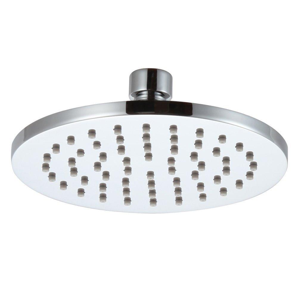 Buy 1Pcs Shower Head Round Super Supercharged Rain Shower Head ...