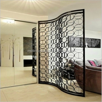 Chinese Style Foldable Metal Frame Panel Inflatable Wall Partition
