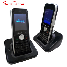 Cordless WIFI VoIP Phone 1 SIP Account SC-9068-WP Pere to Peer Call Hotel Office Home use