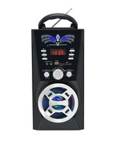 Super Bass Digital Display Portable Stage Karaoke World Receiver Radio