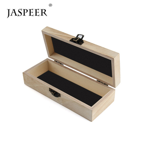 Jaspeer handmade gift square eyewear wood sunglasses case box