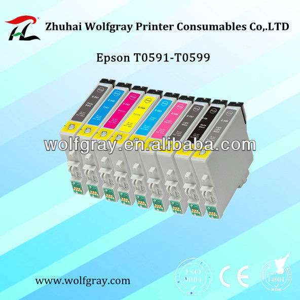 New compatible ink cartridge for Epson T0591
