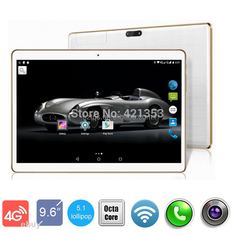 3g 4g Lte Tablet Pc 10 Inch Mtk8752 Quad Core 4gb Ram 16gb/32gb Rom Android  6 0 Gps Camera 3g Phone - Buy 4g Lte Tablet,Android Tablet Without