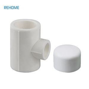 Plumbing materials Serviceable plastic long elbow tee reducer pipe fitting ppr