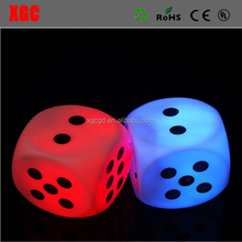 LED Glow Dice Game Speelgoed Voor Party Fun <span class=keywords><strong>Volwassen</strong></span> Paar Novelty Gift Casino Dobbelstenen Lucky Game Bar Pub LED Licht teken Set voor Board Game