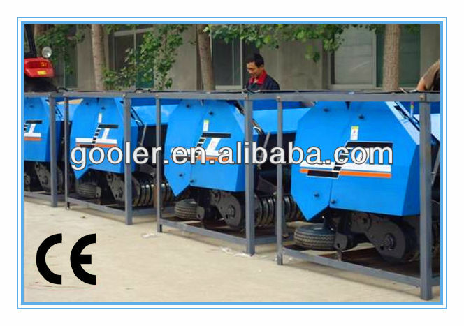 Professional manufacturer CE approved (CE No.OSE--11-0606/01) mini hay baler for sale