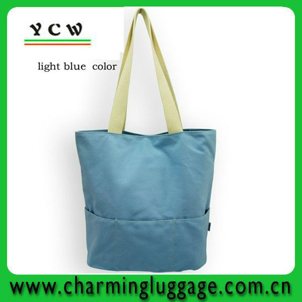 recycle shopping bag / promotional cheap logo shopping bags