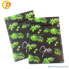 4 x 6 Inch Smell Proof Mylar Weed Bags Kraft Paper Odor Proof Bag