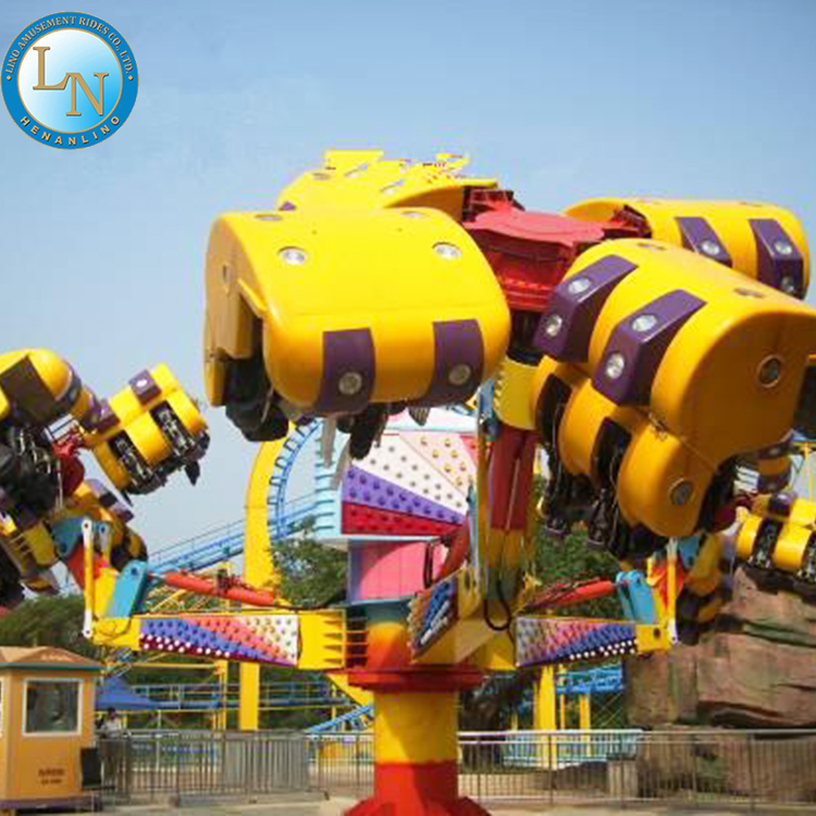 Wholesale products amusement park equipment luxury flying chair ride machine