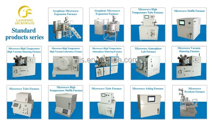 laboratory microwave oven supplier melting sintering pyrolysis lab oven furnace