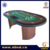 Luxury Texas Hold'em Poker Table with Wooden Leg