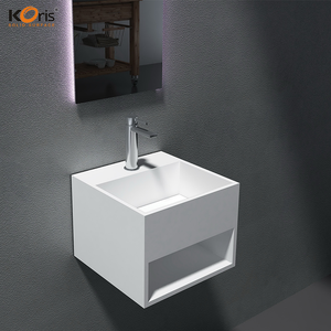 double faucet trough sink/acrylic one piece bathroom sink and countertop