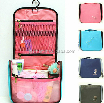 b10724cffd High Quality Large Capacity Outdoor Hanging Wash Bag Portable Waterproof  Travel Cosmetic Toiletry Bag
