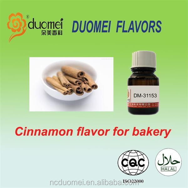 Cinnamon flavor liquid fragrance oil based essence artificial food grade flavouring for bakery