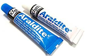 Araldite Epoxy Resin Glue 2 Part Clear Epoxy Adhesive Transparent Quick Dry Glue 10g by Araldite